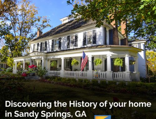 Discovering the History of Your Sandy Springs Home