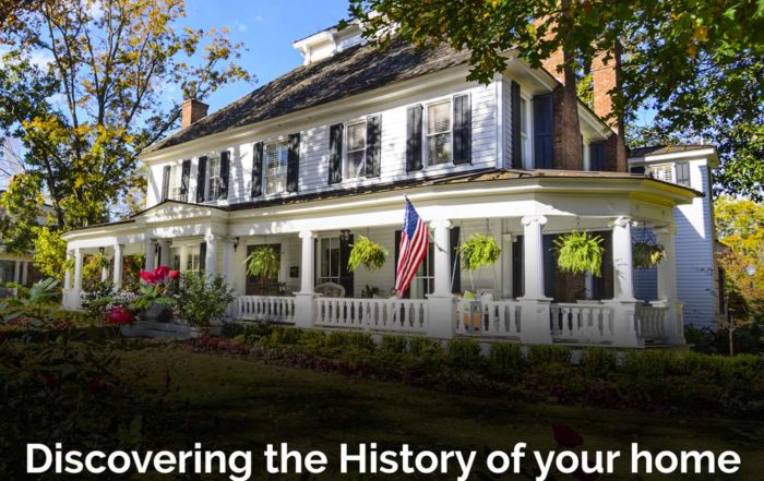 Discovering the history of your home in Sandy Springs, GA