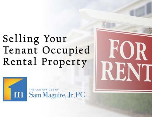 Selling Your Tenant Occupied Rental Property