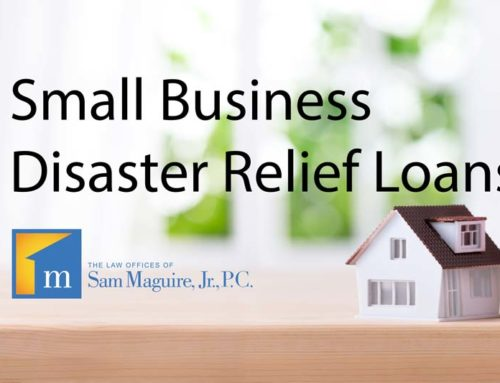 Small Business Disaster Relief Loans