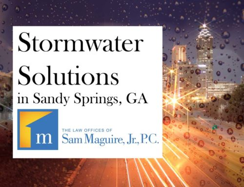Stormwater Solutions in Sandy Springs, GA